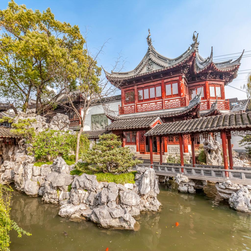 Yu Garden, Shanghai, Yangtze-odyssey